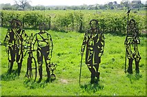 SO8453 : Cut out metal figures by Philip Halling