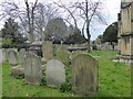 TQ2177 : Chiswick Churchyard by Marathon