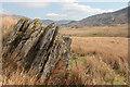 SH6856 : Rock outcrop at Cwm-clorad-isaf : Week 16