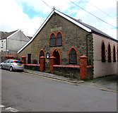 ST1599 : Calfaria chapel, Greenfield Street, Bargoed by Jaggery