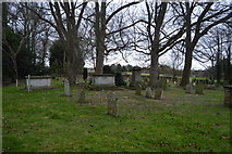 TR2157 : Graveyard, Church of St Vincent by N Chadwick