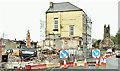 "J3979 : Former ""Olde Priory Inn"" (demolition), Holywood (April 2018) by Albert Bridge"