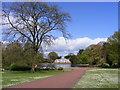 SO9099 : Park Scene by Gordon Griffiths