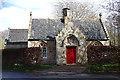 NJ1457 : Priory Lodge : Week 17