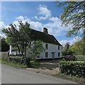 TL4346 : Thriplow: Goward's Farmhouse by John Sutton