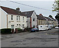 ST1597 : Wires over Commercial Street, Pengam by Jaggery