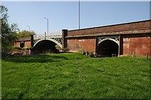 SO8352 : Powick Bridge by Philip Halling