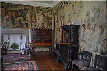 SX4268 : Cornwall : Cotehele House - Old Drawing Room by Lewis Clarke