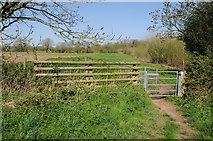 SO8552 : Kissing gate on the Monarch's Way by Philip Halling