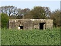 NZ1165 : Pillbox north of Wylam village by Andrew Curtis