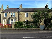 NZ1164 : Iveach Cottage & Brewery House, Ovingham Road, Wylam by Andrew Curtis