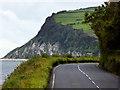 D3016 : Coast Road between Carnlough and Glenarm by David Dixon