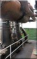 SU4924 : Twyford Pumping Station - triple expansion steam engine by Chris Allen