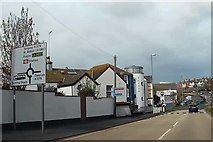 SX9473 : Approaching Teignmouth Museum and Exeter Road by John C