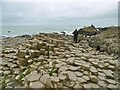 C9444 : Aird, Giant's Causeway 1) by Mike Faherty