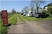 SO8551 : The Ketch Caravan Park by Philip Halling