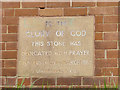 SE2533 : Leeds Citywide Family of God Church -  foundation stone by Stephen Craven