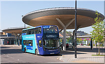 TQ7568 : Chatham bus station - April 2018 (2) by The Carlisle Kid