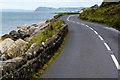 D3314 : A2 Coast Road between Glenarm and Ballygalley by David Dixon