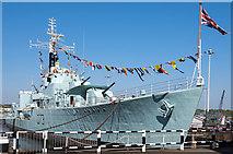 TQ7569 : HMS Cavalier -  April 2018 by The Carlisle Kid