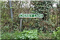 TG4901 : Cherry Lane sign by Adrian Cable