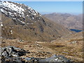 NG9305 : Down into Coire Mhicrail by Richard Law