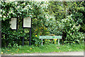 TG4901 : Browston Village Notice Boards & Browston Green sign by Adrian Cable