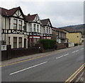 ST2390 : West side of St Mary Street, Risca by Jaggery