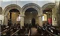 SK8902 : South arcade, Ss Peter & Paul church, Wing by J.Hannan