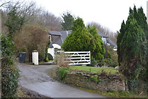 SX8059 : House, Totnes Down Hill by N Chadwick