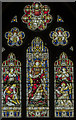 SK8902 : East window, Ss Peter & Paul church, Wing by Julian P Guffogg