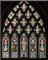 SK8613 : East window, St Mary's church, Ashwell by Julian P Guffogg