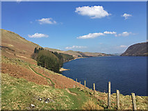 NY4714 : The path on the west side of Haweswater Reservoir by John Allan