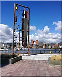 J3474 : Sculpture, Belfast by Rossographer
