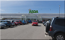 SD3333 : ASDA Supermarket, Blackpool by Ian Greig