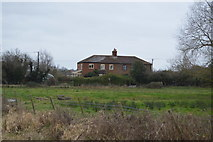 TR2158 : Rectory Cottages by N Chadwick