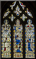SK8613 : Stained glass window, St Mary's church, Ashwell by Julian P Guffogg