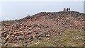 NS9534 : Bronze Age Burial Cairn by Mick Garratt