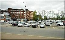 NS5964 : Dunlop Street car park by Richard Sutcliffe