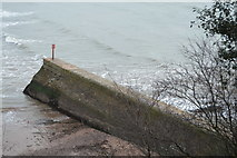SX9676 : Breakwater, Boat Cove by N Chadwick