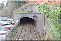 SX9676 : Tunnel, north portal by N Chadwick