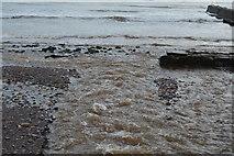 SX9676 : Dawlish Water (mouth of) by N Chadwick