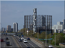 TQ3979 : The Optic Cloak, North Greenwich by Stephen Craven