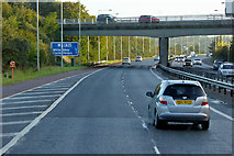 J3479 : M2 Flyover the M5 by David Dixon