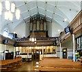 SJ9398 : Inside St Peter's Church by Gerald England