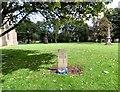 SJ9398 : War Grave in St Peter's Churchyard by Gerald England