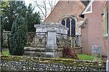 TQ2166 : Tomb, Church of St John the Baptist by N Chadwick