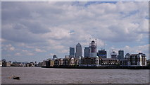TQ3580 : River Thames by Peter Trimming