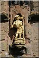 SO9570 : Figure above the south porch by Philip Halling