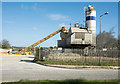 NZ3939 : Ready-mixed concrete plant by Trevor Littlewood